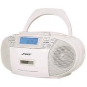 CDRC4W [ラジオCDカセットプレーヤー AM/ワイドFM対応]