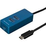 UH-C3143BL [USB3.1 Type-C 3ポートハブ 120cm ブルー]