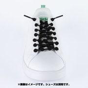 HA75A1-BK [靴ひも COOLKNOT(クールノット) Lサイズ ブラック]