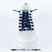 HA50A1-NV [靴ひも COOLKNOT(クールノット) Mサイズ ネイビー]