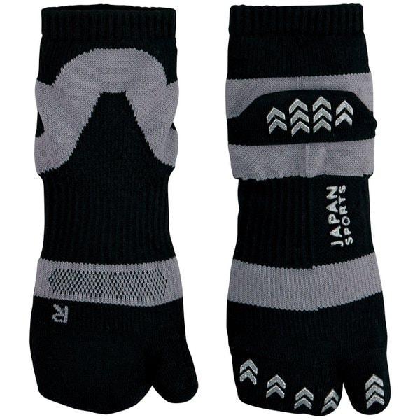 JAPAN SPORTS SOCKS 足袋ソックス ブラック [男女兼用 22~27cm]