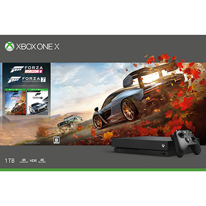 Xbox One X Forza Horizon 4/Forza Motorsport 7 同梱版 数量限定 [CYV-00062]