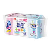 E00535 [ノンアルコール 除菌シート 60枚入×3個 日本製 パラベンフリー ミッキー & ミニー]