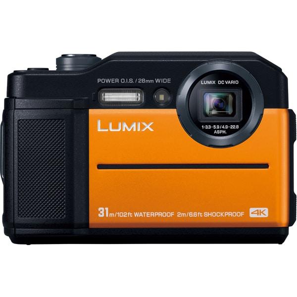 DC-FT7-D [LUMIX(ルミックス) FT7 コンパクトデジタルカメラ オレンジ]