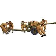 RC35044 英・QF6ポンド対戦車砲・砲移動中兵員5体 [1/35スケール プラモデル]