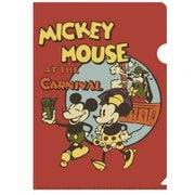 N1613 [クリアファイル ミッキーマウス生誕90周年商品 A4 ミッキー&ミニー]