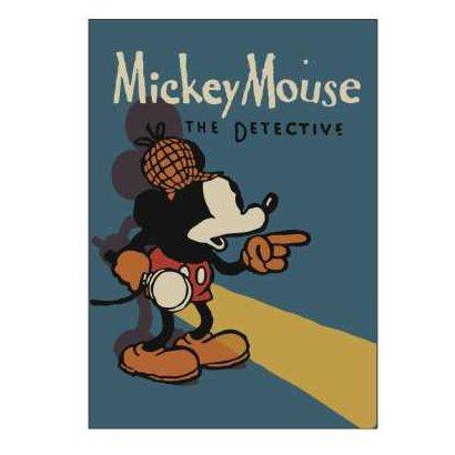 R1591 [厚口ノート ミッキーマウス生誕90周年商品 A5 ミッキー]