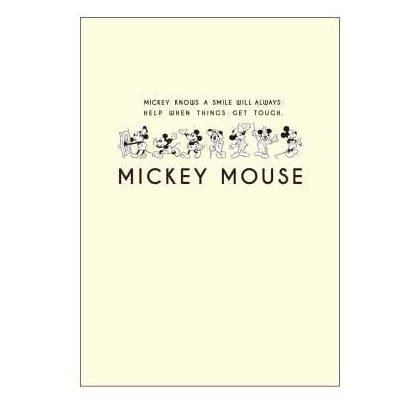 R1593 [ノート ミッキーマウス生誕90周年商品 B6 ミッキー_AN]