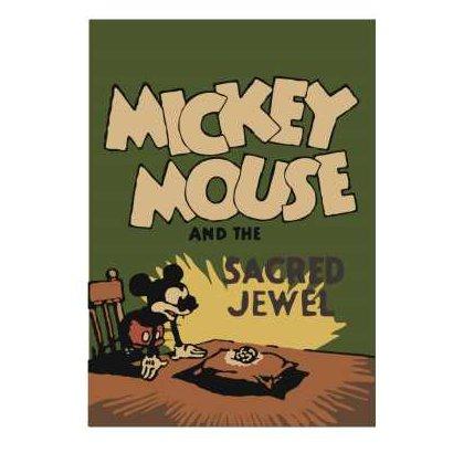 R1594 [ノート ミッキーマウス生誕90周年商品 B6 ミッキー1]