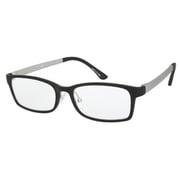 UN37 ブラックマット/グレーマット +1.5 [Reading Glasses Collection スタンダードシリーズ メンズ]