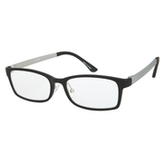 UN37 ブラックマット/グレーマット +2.0 [Reading Glasses Collection スタンダードシリーズ メンズ]