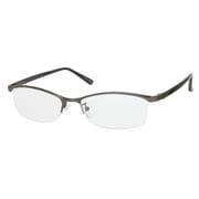 UN38 ガンメタル/ブラック +2.5 [Reading Glasses Collection スタンダードシリーズ メンズ]