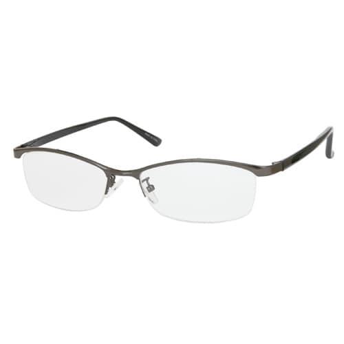 UN38 ガンメタル/ブラック +3.0 [Reading Glasses Collection スタンダードシリーズ メンズ]