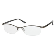 UN38 ガンメタル/ブラック +3.5 [Reading Glasses Collection スタンダードシリーズ メンズ]