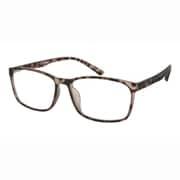 UN48 ブラウンデミマット +1.0 [Reading Glasses Collection スタンダードシリーズ メンズ]