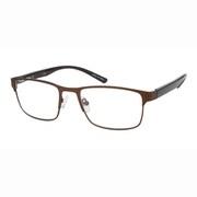 UN49 ブラウンマット/チェック +3.0 [Reading Glasses Collection スタンダードシリーズ メンズ]