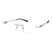 UN50 グレー +3.0 [Reading Glasses Collection スタンダードシリーズ メンズ]