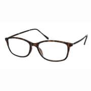 UN55 ブラウンデミマット/ブラウン +1.0 イーグル [Reading Glasses Collection スタンダードシリーズ メンズ]