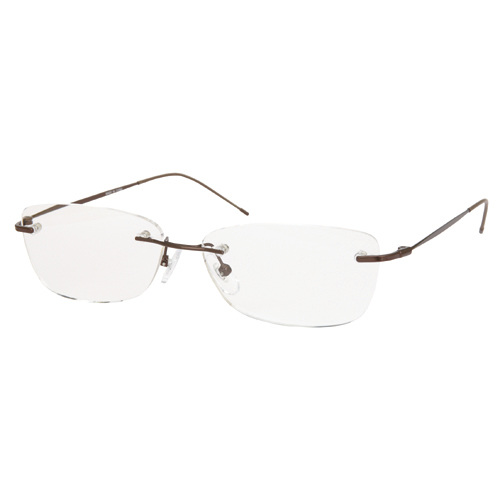 AR01 ブラウン +2.0 [Reading Glasses Collection Air Reader メンズ]