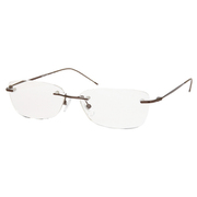 AR01 ブラウン +2.5 [Reading Glasses Collection Air Reader メンズ]