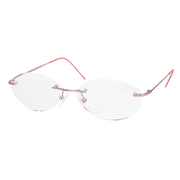 AR02 ピンク +3.5 GDイブシ [Reading Glasses Collection Air Reader レディース]