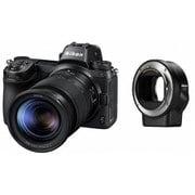 ニコン Z 7 24-70+FTZマウントアダプターキット [ボディ+交換レンズ「NIKKOR Z 24-70mm f/4 S」+マウントアダプター「FTZ(レンズ側:ニコンF / ボディ側:ニコンZ)」 35mmフルサイズ]