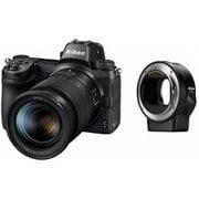 ニコン Z 6 24-70+FTZマウントアダプターキット [ボディ+交換レンズ「NIKKOR Z 24-70mm f/4 S」+マウントアダプター「FTZ(レンズ側:ニコンF / ボディ側:ニコンZ)」 35mmフルサイズ]