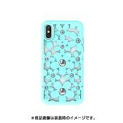 SE_I9SCSDLFL_MT [iPhone XS用ケース 3D 立体 TPU シンプル デザイン 耐衝撃 ハード カバー Fleur/Mint for iPhone XS]