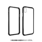 SE_I9SCSGAIG_BK [iPhone XS用ケース ハイブリッド 透明 ハード カバー iGLASS/Black for iPhone XS]