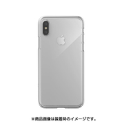 SE_I9SCSPCND_CL [iPhone XS用ケース 薄型 シンプル デザイン ポリカーボネイト スリム ハード カバー 側面 フルカバー タイプ NUDE/UltraClear for iPhone XS]