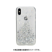SE_I9SCSTPSF_CL [iPhone XS用ケース キラキラ ラメ 入り ハード ケース ストラップ ホール 付き StarField/UltraClear for iPhone XS]