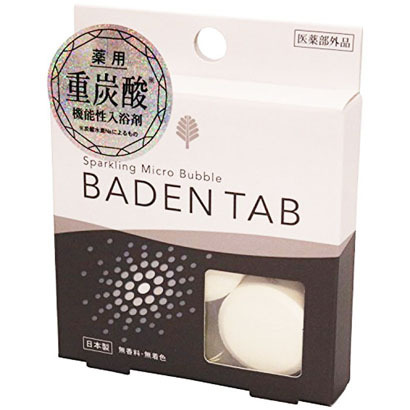 BT-8755 [薬用重炭酸入浴剤 Baden Tab 1回分 医薬部外品]