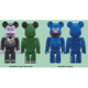 BE@RBRICK COUNT VON COUNT&GROVER 2PACK [塗装済可動フィギュア]