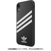 32806 OR SAMBA Moulded Case PU FW18 black/white [iPhone XR用ケース ブラック×ホワイト]