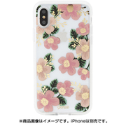 278-0231-0111 CLEAR COAT SOUTHERN FLORAL [iPhone XS用]