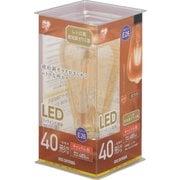 LDF4C-G-FK [LEDフィラメント電球 E26口金 T形 40形相当 キャンドル色相当  密閉器具対応]