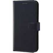 RT-P20ELC1/BB [iPhone XS/X用 手帳型ケース シンプル マグネット ブラック/ブラック]