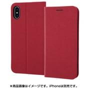 RT-P20SLC3/JR [iPhone XS/X用 手帳型ケース マグネットタイプ レッド]