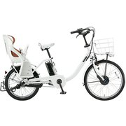 BM0B49 3P908A0 [電動アシスト自転車 bikke MOB dd(ビッケ モブ dd) 前24型/後20型 14.3Ah相当 内装3段変速 E.XBKホワイト 2019年モデル]