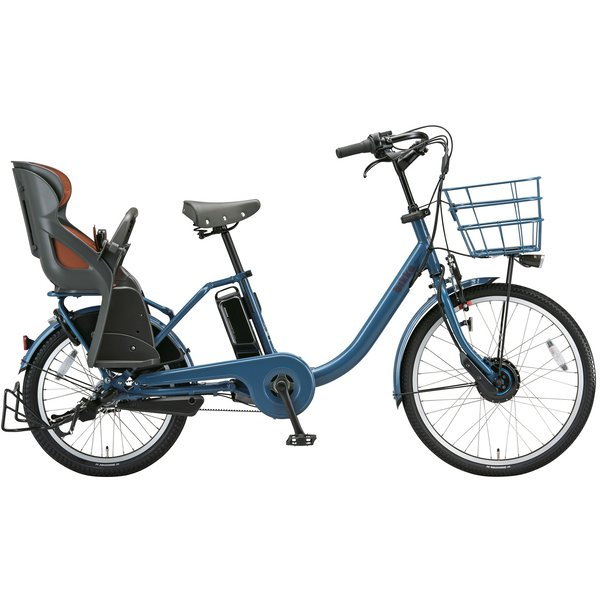 BM0B49 3P908D0 [電動アシスト自転車 bikke MOB dd(ビッケ モブ dd) 前24型/後20型 14.3Ah相当 内装3段変速 E.Xネイビーグレー 2019年モデル]