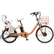 BM0B49 3P908E0 [電動アシスト自転車 bikke MOB dd(ビッケ モブ dd) 前24型/後20型 14.3Ah相当 内装3段変速 E.Xオークルオレンジ 2019年モデル]