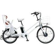 BG0B49 3P900A0 [電動アシスト自転車 bikke GRI dd(ビッケ グリ dd) 前24型/後20型 14.3Ah相当 内装3段変速 E.XBKホワイト 2019年モデル]