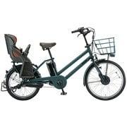 BG0B49 3P900C0 [電動アシスト自転車 bikke GRI dd(ビッケ グリ dd) 前24型/後20型 14.3Ah相当 内装3段変速 T.Xディープグリーン 2019年モデル]