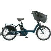 BR0C49 3P95AG0 [電動アシスト自転車 bikke POLAR e(ビッケ ポーラーe) 20型 15.4Ah 内装3段変速 T.レトロブルー 2019年モデル]