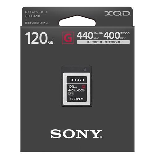 QD-G120F J [XQDメモリーカード 120GB]