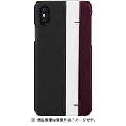 EB14378i58 Stripe Bar BK [iPhone XS用]