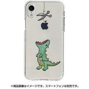 DS14810i61 [iPhone XR用 ソフトクリアケース ファンタジー ハラペコザウルス GR]