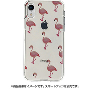 DS14818i61 [iPhone XR用 ソフトクリアケース フラミンゴ]