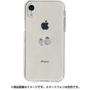 DS14825i61 [iPhone XR用 ソフトクリアケース ミニ動物 ペンギン]