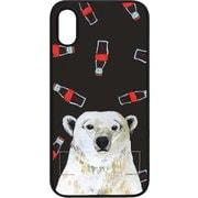 DS14839i61 [iPhone XR用 spirit case 白熊とコーラ]